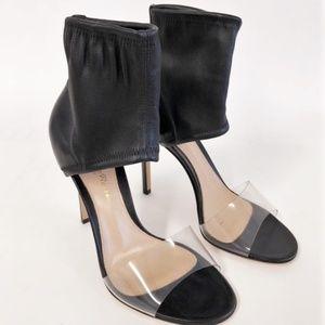Gianvito Rossi Aurelie PVC-Strap Sandals Sz 35.5